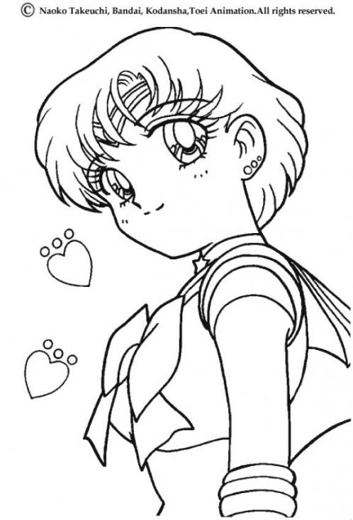 Sailor Mercury dessin
