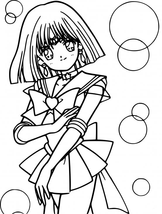Sailor Saturn dessin